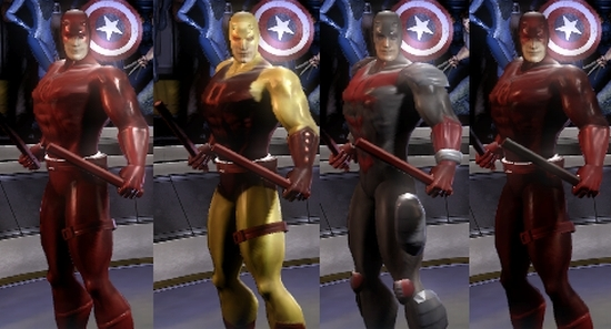 All Costumes Cheat For Marvel Ultimate Alliance On Xbox ...