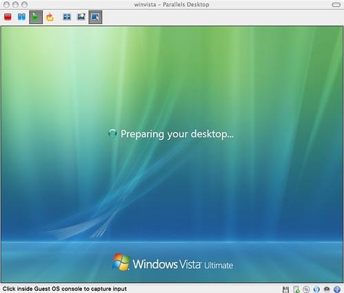 Preparing your desktop...