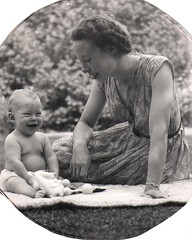 Me & Mom in 1953