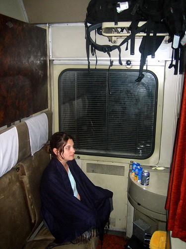 Our West German sleeper train