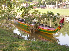 Boat races at the Siem Reap Water Festival Nov 4-5 2006