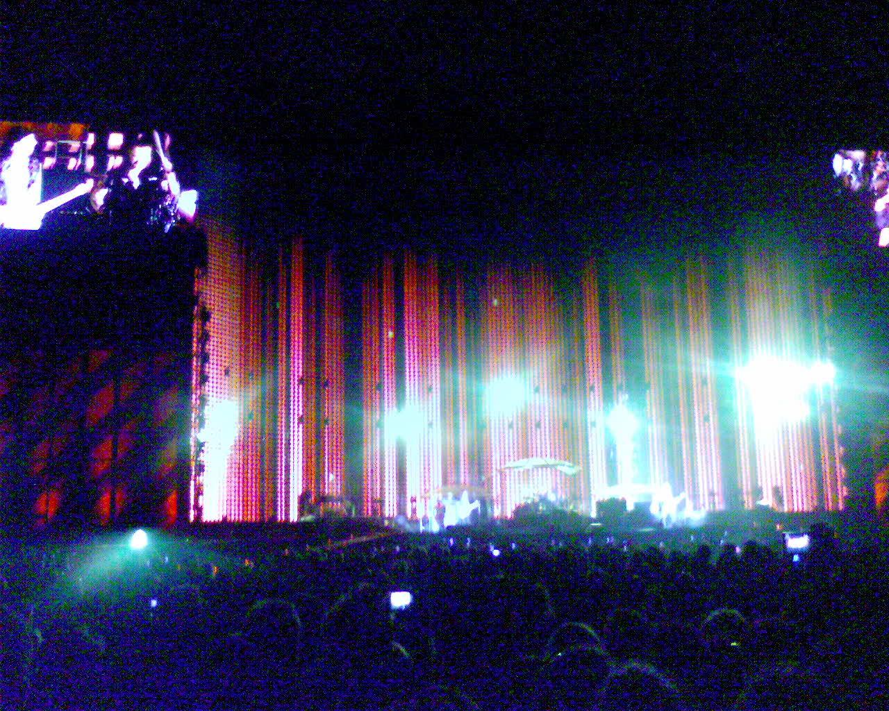 Comeco do show - U2
