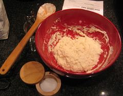 Bittman's shaggy bread dough