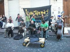 Street Tango Band in San Telmo