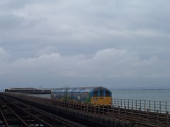 Island Line train on Ryde Pier