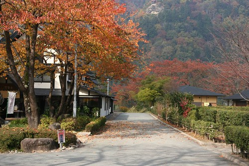甘香舍旁的步道