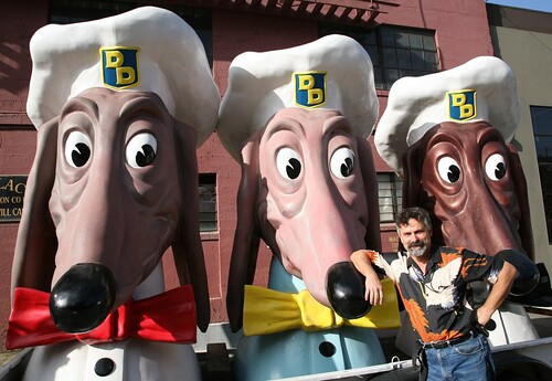 Doggie Diner Dog Heads & John Law