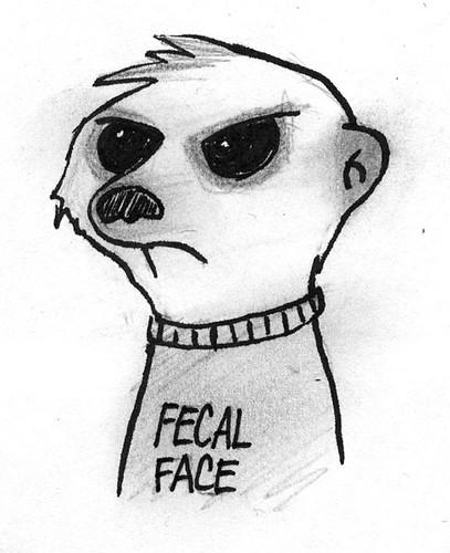 Fecal Face Meerkat