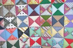 GrannyGran quilt - closeup