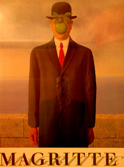 self portrait in magritte