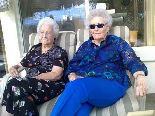 My Grandma and Her Oakley Sunglasses