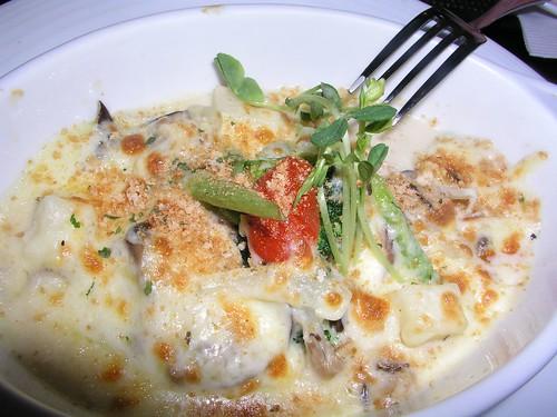 20061125_「靴子」義大利餐館_奶油野菇焗春蔬