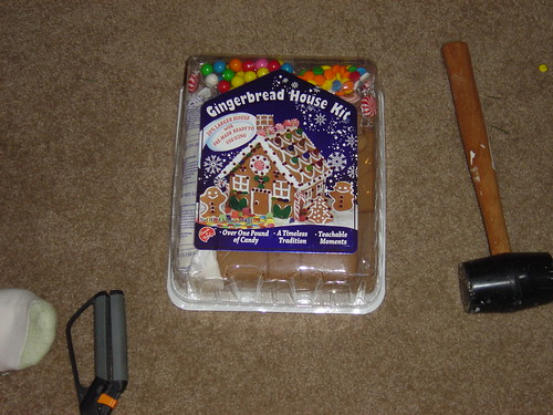 The Gingerbread House Kit, pre-opening