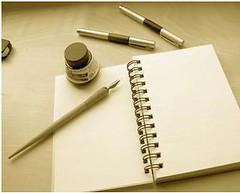 paper pen