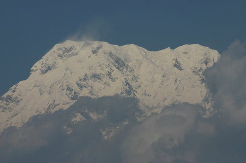 One of the huge Annapurnas, +8000m!