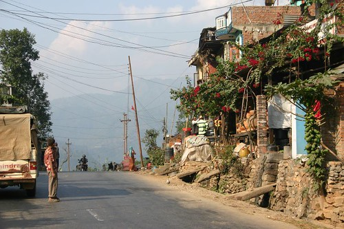Typical Nepali village. East of Pokhara.
