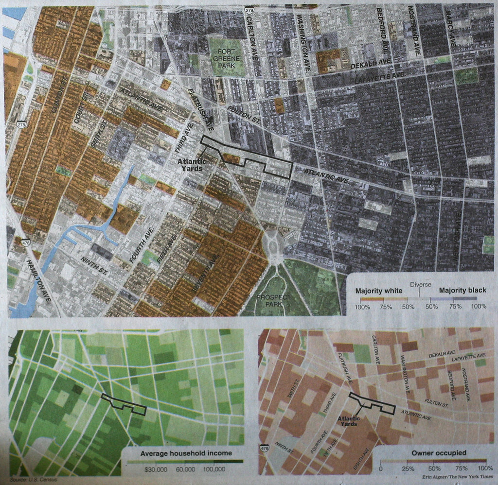 Brooklyn Ramblings: Racial Dividing Lines in Brooklyn on
