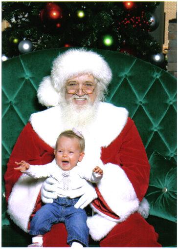 Nora and Santa