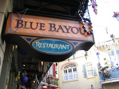 The Blue Bayou restaurant at Disneyland. (11/19/06)