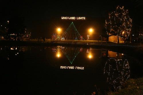 washington township woodland lights holiday display in dayton - Christmas Lights In Dayton Ohio