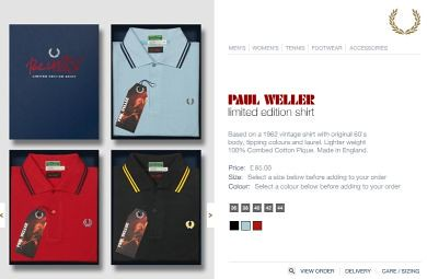 Fred Perry x Paul Weller