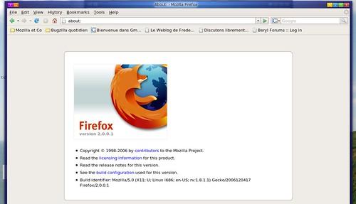 boite d'info de firefox 2.0.0.1 Rc1