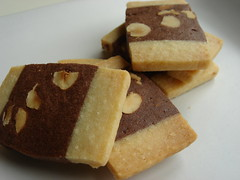 Hazelnut Chocolate Sables