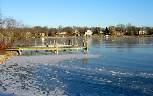 Carsons Bay, A Frozen Dock