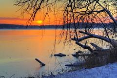 Dawn at Lake Waubesa photo by WisDoc