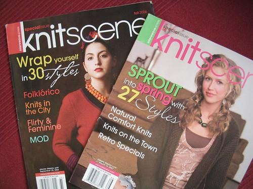 knitscene magazines