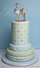 Rac's Baby Shower Cake photo by Rouvelee's Creations