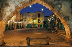 A glimpse of the bastide through the arcades IV HDR* photo by David Giral | davidgiralphoto.com