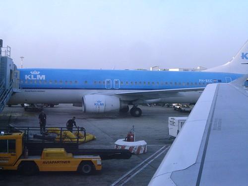 Airport Terminal B KLM Airlines