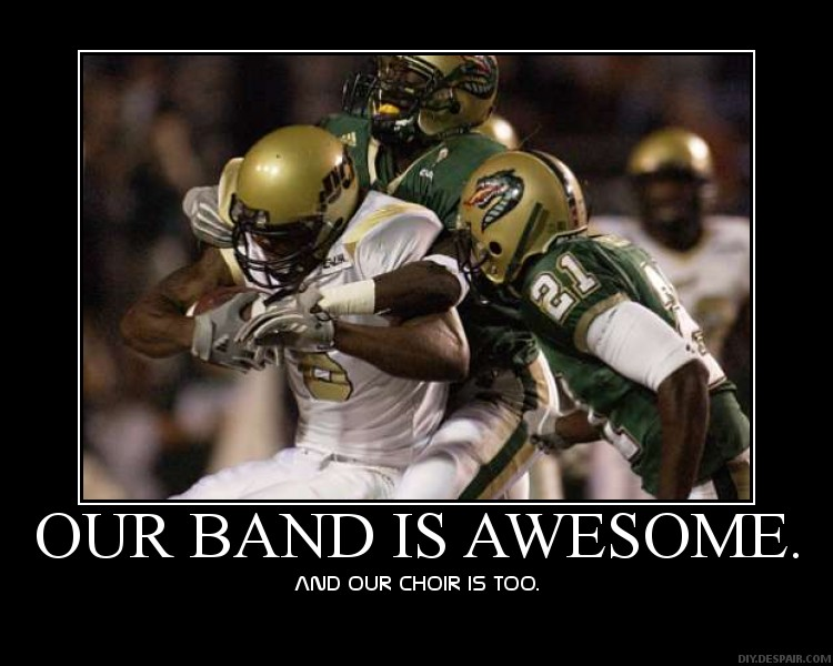 Band and Football