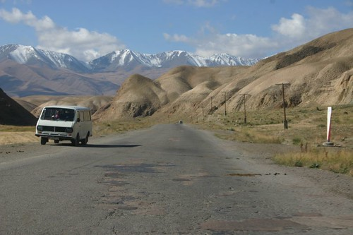 Wonderful scenary near Naryn, Central Kyrgyzstan...