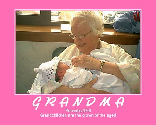 Grandma and her 11th grandchild
