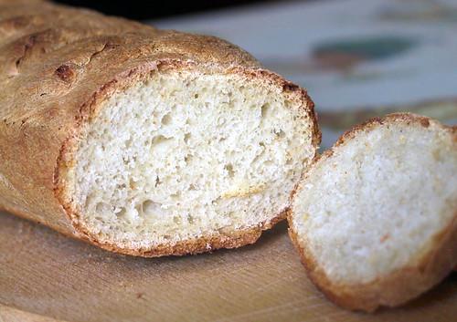 Pan rústico - miga