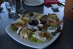 riverbank tasting plate