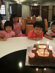 Isaac is three