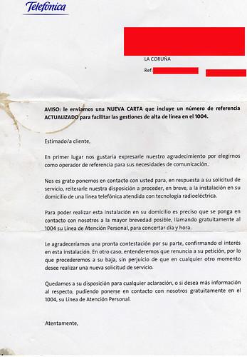 carta duas a Pepe de Neovila