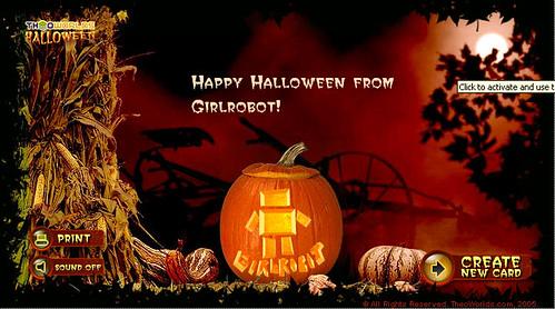 Girlrobot Pumpkin