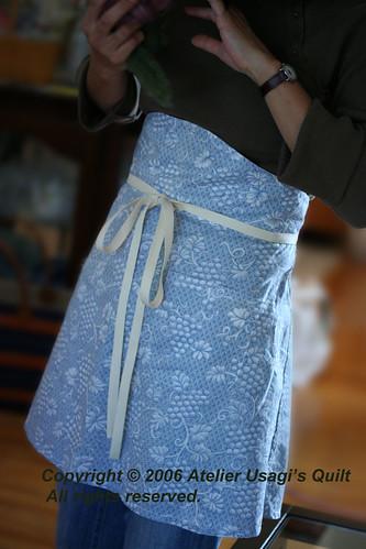 Atelier Usagi's Quilt オリジナルエプロン