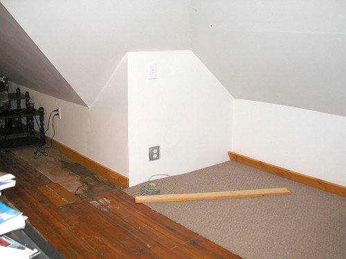 Attic of Love - This is where they need to tear the wall out.