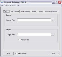 Robocopy GUI