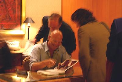 Matt Moran signing autographs