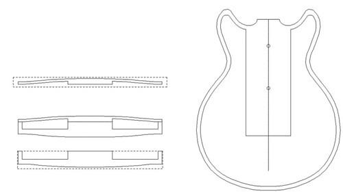 Telecaster Guitar Body Template http://greedguitars.blogspot.com/2007 ...