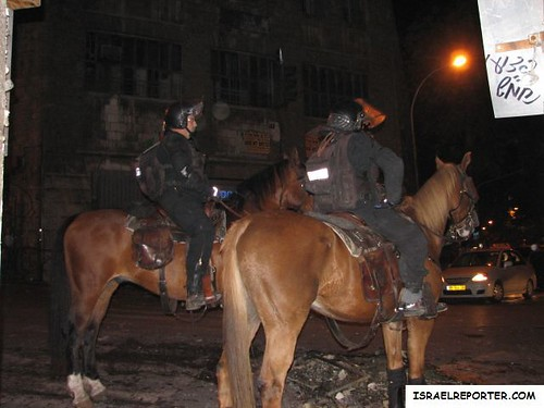 Security Forces on Horseback
