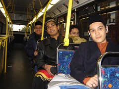 Dlm Bus On The Way Ke Occasion Lemang vs Ketupat 3 Di Astra Hall, Belfield, UCD