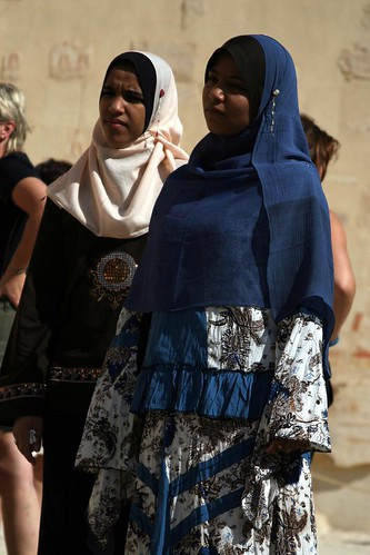 Women at Hatshepsut's Temple