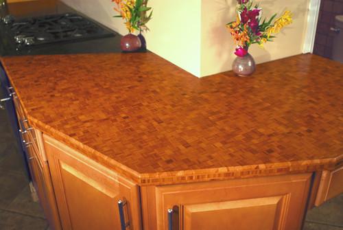 installing ceramic tile overhead